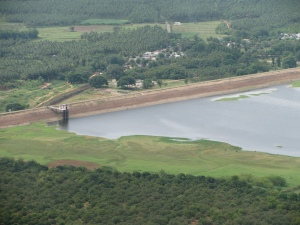 Manjal Aaru (lake) view from Kodai hills