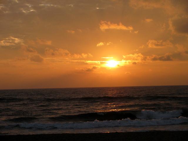 Sunrise on Pongal day