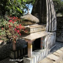 Shiva's temple at Chetak's Memorial