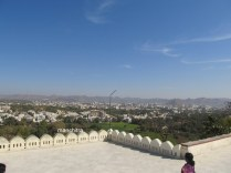 Panoramic view from Pearl Hill or Moti Magri
